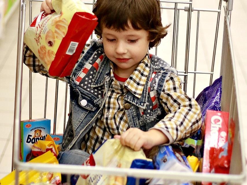 gezondheid kinderen Nederlandse supermarkten